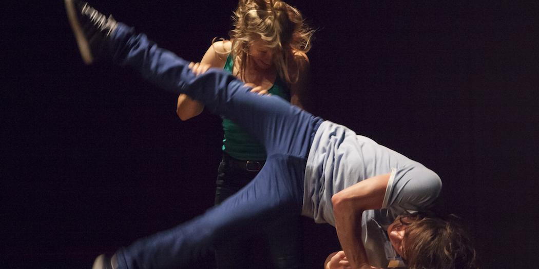 Floor work dance class